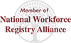 Member of National Workforce Registry Alliance